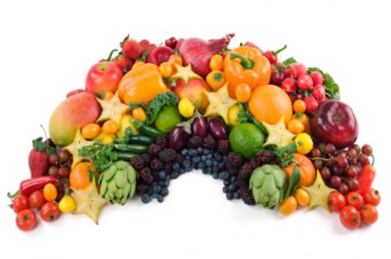 Ακολουθήστε τη δίαιτα του «Ουράνιου Τόξου»