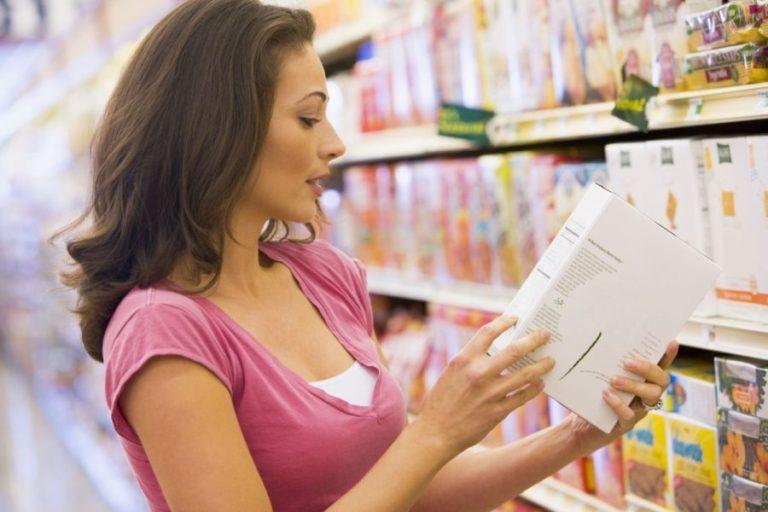 Ψωνίστε έξυπνα - Εξετάστε τις ετικέτες τροφίμων